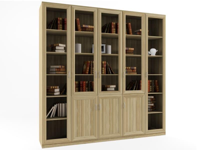 шкаф-библиотека для книг GGМебель
